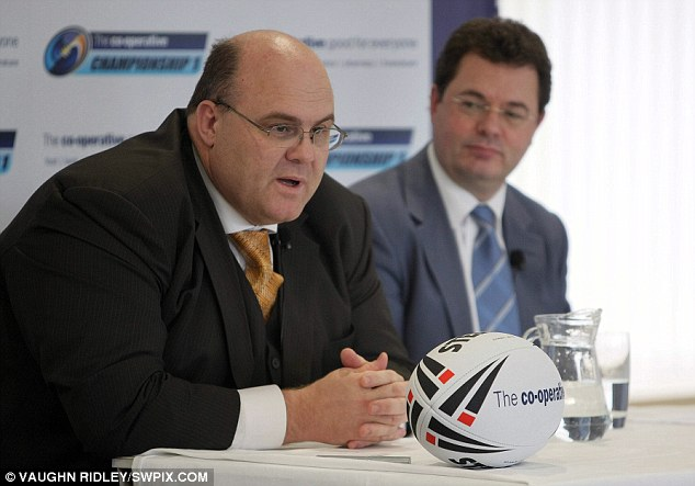 Wood (left) helped deliver the most successful World Cup in history which generated a profit in excess of £3.7million for the RLIF