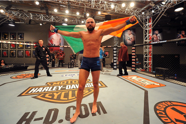 From rugby star to UFC: The rapid rise of Cathal Pendred