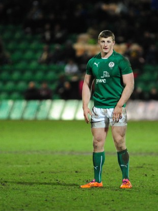 Ireland U20 centre Peter Robb has played 1A rugby with Old Belvedere this season.