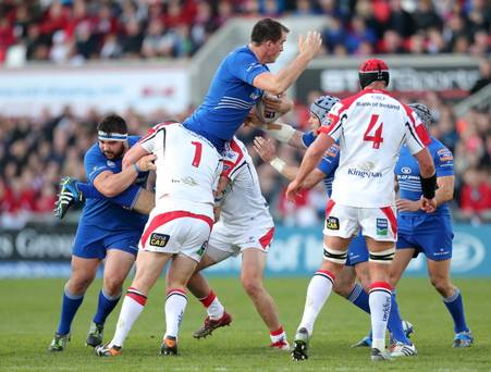 Rabo Pro12: Ulster v Leinster at Ravenhill.Ulster