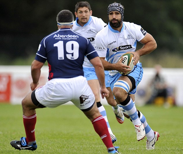 International: South African innate Josh Strauss might get a possibility to play for Scotland during a World Cup