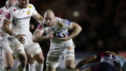 Matt Kvesic has put in a string of man of the match performances for Exeter in recent weeks