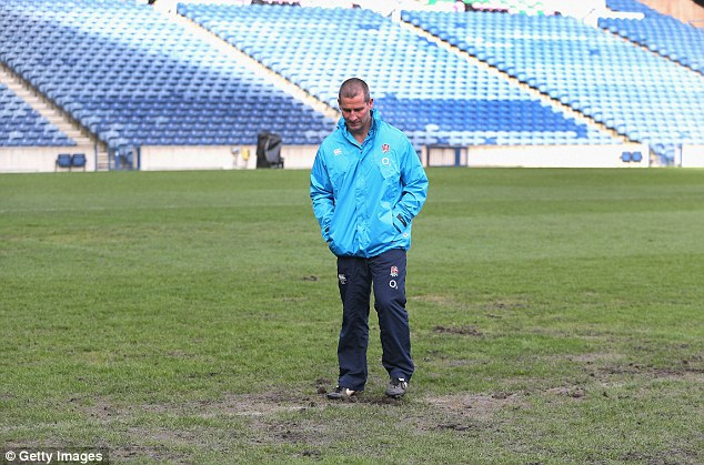 Keeping lane of a turf: England manager Lancaster inspects a Murrayfield representation brazen of a compare with Scotland