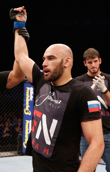 Pendred faces Russian grappler Gasan Umalatov in Stockholm subsequent month (Picture: Getty Images)