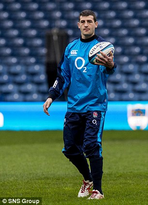 Looking to make an impression: Jonny May will be aiming to uncover his best form opposite Scotland