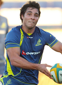 Nick Phipps Wallabies training RC 2012
